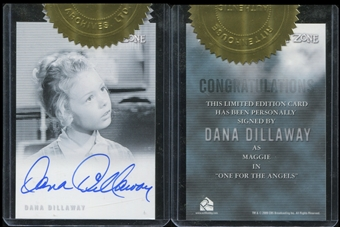 2009 Rittenhouse Complete Twilight Zone Autographs #A126 Dana Dillaway as Maggie Case Topper