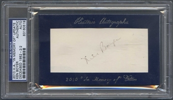 2010 Historic Autograph Baseball Ken Boyer Cut Auto #2/2