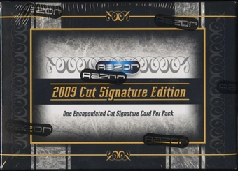 2009 Razor Cut Signature Edition Hobby Box