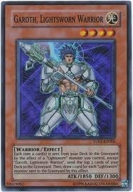 Yu-Gi-Oh Promo Single Garoth Lightsworn Warrior Super Rare TU01