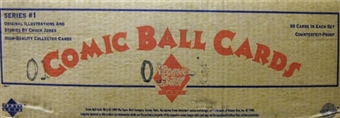 Comic Ball Series 1 Wax Case