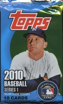 2010 Topps Series 1 Baseball Hobby Pack