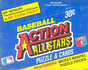 1983 Donruss Baseball Action All-Stars Wax Box