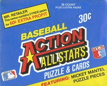1983 Donruss All-Star Edition Baseball Wax Box