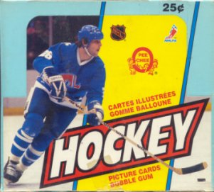 1983/84 O-Pee-Chee Hockey Wax Box
