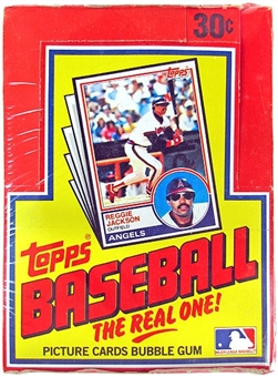 1983 Topps Baseball Wax Box