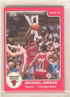 1984/85 Star Co. Basketball Complete Bagged Set
