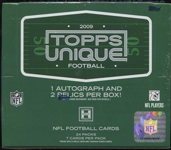 2009 Topps Unique Football Hobby Box