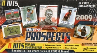 2009 TriStar Prospects Plus Baseball Hobby Box