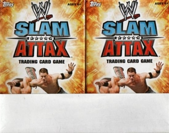 2010 Topps WWE Slam Attax Wrestling Starter Box