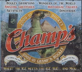 2009/10 Upper Deck NHL Champs Hockey Hobby Box