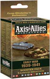 Axis & Allies Miniatures Early War 1939-1941 Booster Pack