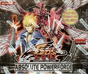 Konami Yu-Gi-Oh Absolute Powerforce Booster Box