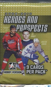 2009/10 In The Game Heroes & Prospects Hockey Hobby Pack