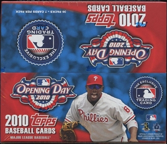 2010 Topps Opening Day Baseball Box