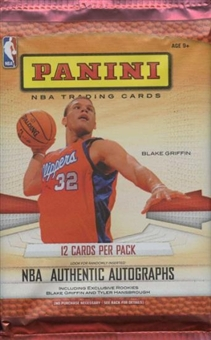2009/10 Panini Basketball Hobby Pack