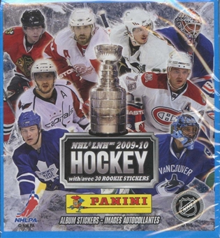 2009/10 Panini NHL Hockey Sticker Box