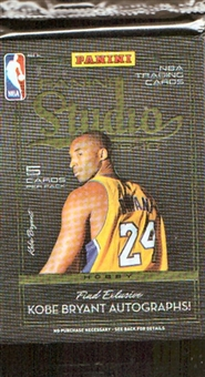 2009/10 Panini Studio Basketball Hobby Pack