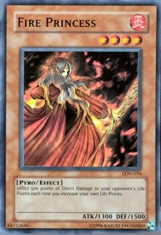 Yu-Gi-Oh Labyrinth of Nightmare Single Fire Princess Super Rare (LON-034)