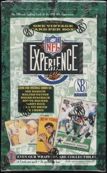 1997 Scoreboard NFL Experience Football Box