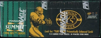 1996 Pinnacle Summit Premium Stock Football Box
