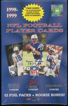 1998 Collector's Edge Football Box