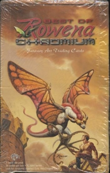 Best Of Rowena Chromium Fantasy Art Trading Cards Box