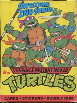 Teenage Mutant Ninja Turtles Awesome 2nd Series Box