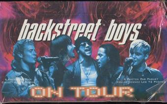 Backstreet Boys On Tour Trading Card Box (2000 Panini)