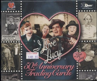 I Love Lucy 50th Anniversary Trading Card Box