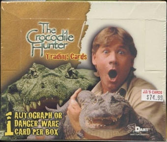 The Crocodile Hunter Trading Cards Box