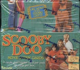 Scooby Doo Movie Story Cards Box (2007 Inkworks)