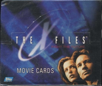 X-Files - Fight The Future Movie Cards Box (1998 Topps)
