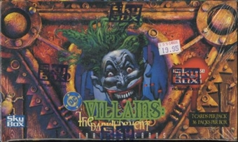 Villains: The Dark Judgement Trading Cards Box (Skybox)