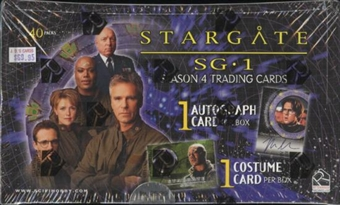 Stargate SG-1 Season 4 Trading Cards Box (Rittenhouse 2002)