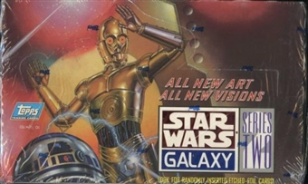 Star Wars Galaxy Series 2 Box (Topps)