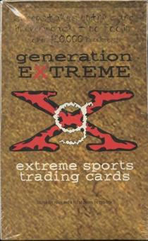1994 Generation Extreme Sports Trading Cards Box