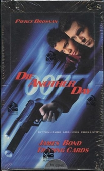 James Bond 007 Die Another Day Trading Cards Box (Rittenhouse 2002)