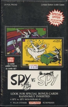 Spy vs Spy Trading Cards Box