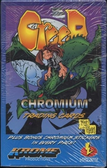 Creed Chromium Trading Cards Box