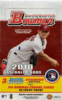 2010 Bowman Baseball Jumbo Box