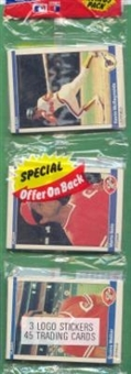 1984 Fleer Baseball Rack Pack