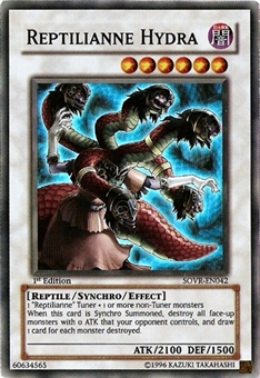 Yu-Gi-Oh Stardust Overdrive Single Reptilianne Hydra Super Rare