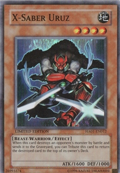 Yu-Gi-Oh Hidden Arsenal Single X-Saber Uruz Super Rare