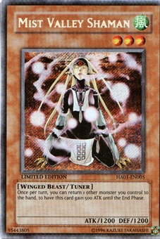 Yu-Gi-Oh Hidden Arsenal Single Mist Valley Shaman Secret Rare