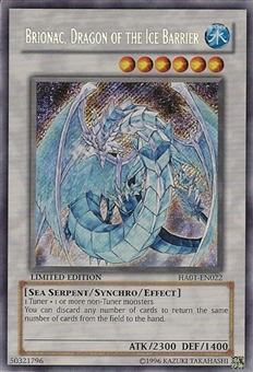 Yu-Gi-Oh Hidden Arsenal Single Brionac, Dragon of the Ice Barrier Secret Rare