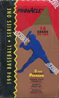 1994 Pinnacle Series 1 Baseball Hobby Box