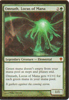 Magic the Gathering Worldwake Single Omnath, Locus of Mana - NEAR MINT (NM)