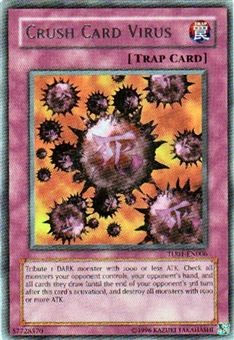 Yu-Gi-Oh Turbo Pack 1 Single Crush Card Virus Rare