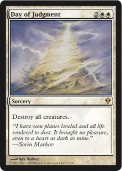 Magic the Gathering Promotional Single Buy-A-Box Day of Judgment Foil - NEAR MINT (NM)